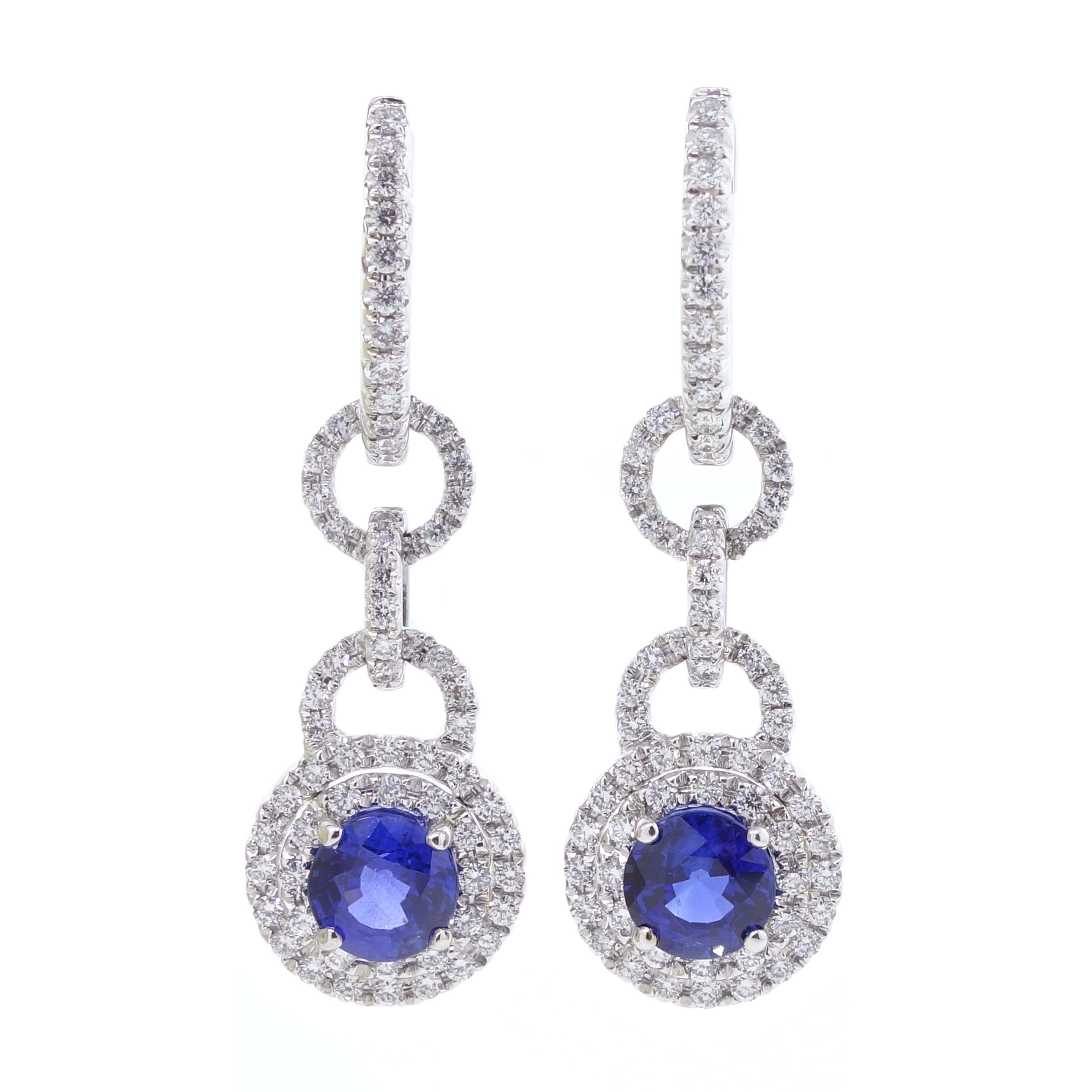 Item Sapphire Earrings Sehgal Diamonds